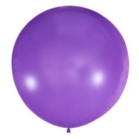 Большой сиреневый шар.