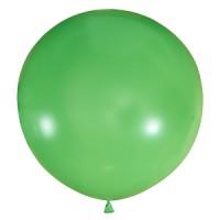 Большой зеленый шар.