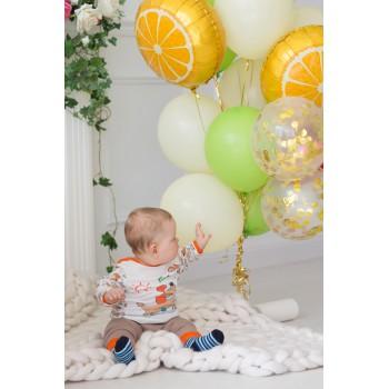 Связка шаров с апельсинами