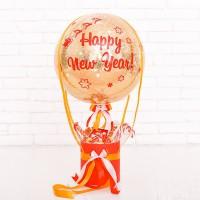 Подарок в виде воздушного шара со сладостями