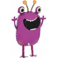 Фиолетовый ходячий шар Монстрик