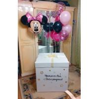 Коробка шаров  в стиле Минни Маус