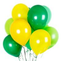 Зелёный+жёлтый+салатовый