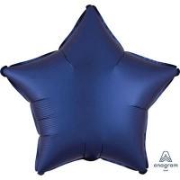 Синяя звезда сатин