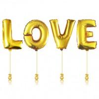 Гелиевые шары LOVE