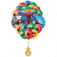 Фонтан из шаров Спайдермен