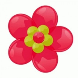 Цветок из шаров на стену