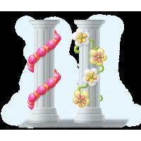 Декор колонн