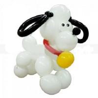 Большая собачка из шаров