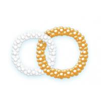 Большие переплетенные кольца из шаров