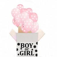 "Коробка с шарами ""Boy or girl"""