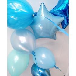 Голубые шары под потолок