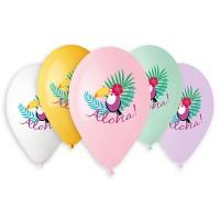 Гелиевые латексные шары гавайская вечеринка