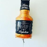 Фигурный шар Бутылка виски
