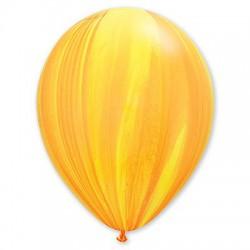 Шар желто-оранжевый агат