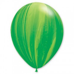Шар лаймово-зеленый агат