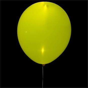Шар светящийся цвет желтый