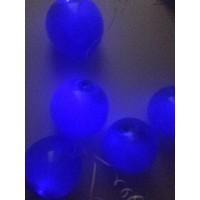 Синие светящиеся шары