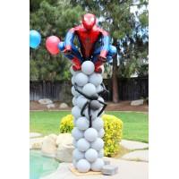 Композиция Человек-паук на основании из шаров