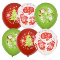 Воздушные шары новогодней тематики