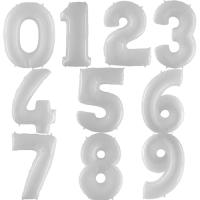 Белые цифры