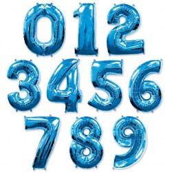 Синие цифры