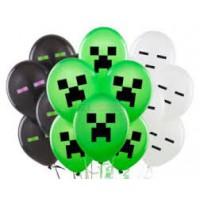 Гелиевые шары Майнкрафт
