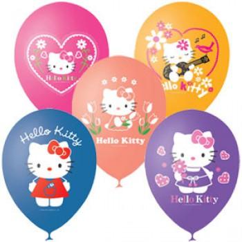 Гелиевые шары Hello Kitty