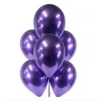Фиолетовые хромовые шары