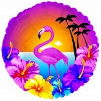 """Круг с рисунком """"Гавайская вечеринка"""""""