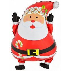Гелиевый шар Дед Мороз