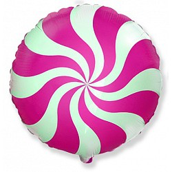 Розовый шар-конфетка