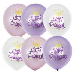 Шары Little princess для маленьких принцесс